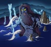 Poseidon Immagini Stock