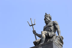 Poseidon. Statue in amoy city china Royalty Free Stock Photos