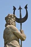Poseidon con Tritón de Atlantis Imagen de archivo
