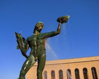 Poseidon in Gothenburg, Schweden lizenzfreie stockfotos