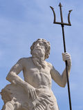 Poseidon and his fork Royalty Free Stock Photography