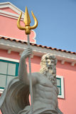 Poseidon. This man in pastel mood Royalty Free Stock Photography