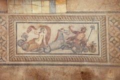 Poseidon och Amphitrite Arkivbilder