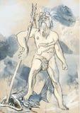 Poseidon Stock Image