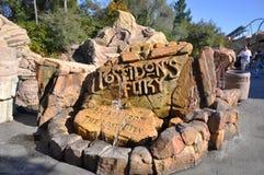 Poseidon's Fury in Universal Orlando Royalty Free Stock Image