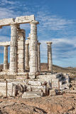 Poseidon's Temple Royalty Free Stock Images