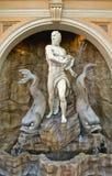 Poseidon Skulptur Stockfotos
