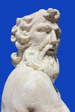 Poseidon-statueat Zakynthos-Insel, Griechenland Stockfoto