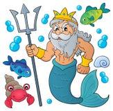 Poseidon temabild 1 Royaltyfri Foto