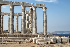 Poseidon Temple Royalty Free Stock Image