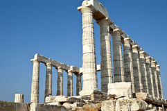 Poseidon Temple Stock Photography