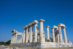 Poseidon Temple, Greece Stock Photography