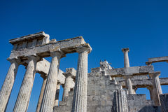 Poseidon Temple, Greece Royalty Free Stock Photo