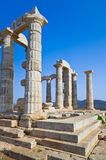 Poseidon Temple near Athens, Greece Stock Image