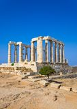 Poseidon Temple near Athens, Greece Stock Images