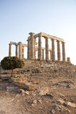Poseidon Temple Royalty Free Stock Photography