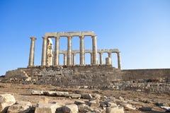Poseidon Temple Stock Photos