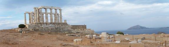 Poseidon Temple2 Images libres de droits