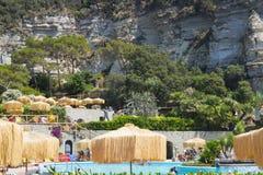 Poseidon Terme, Ischia stockfotografie