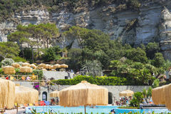 Poseidon Terme, Ischia. Poseidon Terme - the largest resort with termes on Ischia island, Italy Stock Photography