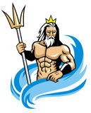 Poseidon Royalty Free Stock Photography
