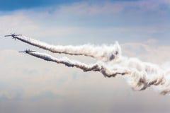 POSEN, POLEN - 14. JUNI: Aerobatic Gruppenbildung Stockfotos