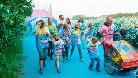 Posen, Polen - 20. Mai 2017: Glückliche Menschen, die an teilnehmen Stockbilder