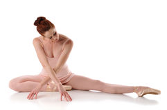 posera för ballerina Fotografering för Bildbyråer