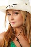 posera för flickaglamour royaltyfri bild
