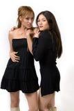 posera för flickor Royaltyfria Bilder