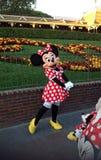 Posera för Minnie mus arkivbild