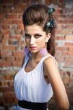 posera för modemodell Royaltyfria Foton