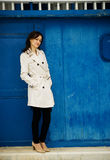 posera för modemodell Royaltyfri Bild