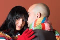 posera för par fotografering för bildbyråer