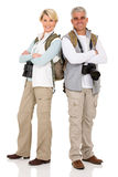 Posera för parturister Fotografering för Bildbyråer