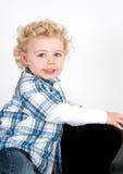 posera för pojke arkivfoton