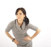 posera kvinna arkivfoton