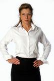 posera kvinna för busuness Royaltyfria Bilder
