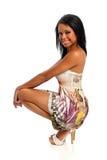 posera kvinnabarn för stående Royaltyfria Foton