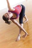 posera yoga Royaltyfria Bilder