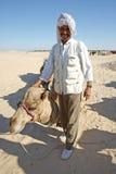 Posering beduino Imagenes de archivo