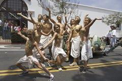 Posers at annual Summer Solstice Celebration. And Parade June 2007, since 1974, Santa Barbara, California Stock Photography