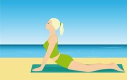 Poses da ioga Imagem de Stock