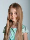 Poses do modelo da menina Imagens de Stock Royalty Free