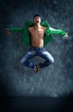 Poses modernes de danseur photographie stock libre de droits