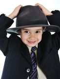 Posetive kid Stock Images