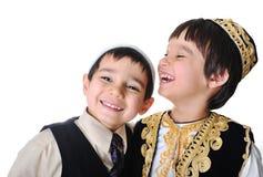 Posetive kid royalty free stock photography