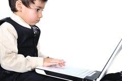 Posetive kid royalty free stock image
