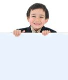 Posetive kid stock photo
