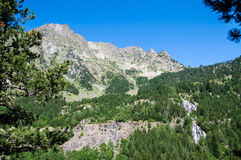 Posets-Maladeta Natural Park - Benasque Valley Royalty Free Stock Image